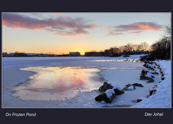 On Frozen Pond by davart
