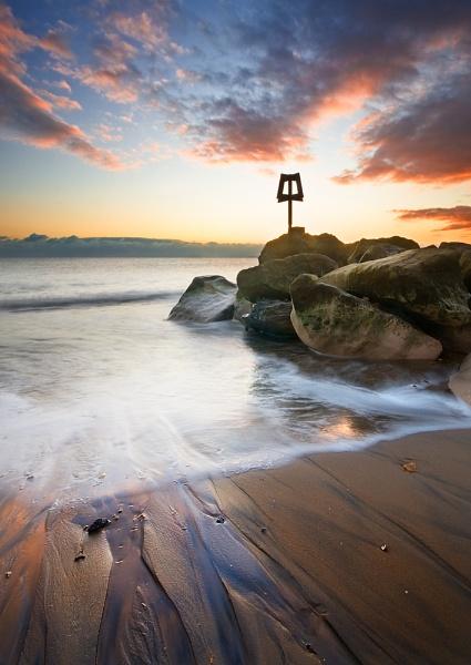 Hengistbury Sunset - Wave 4
