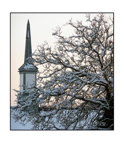 Winter Church by balance