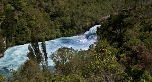 Huka falls by possumhead