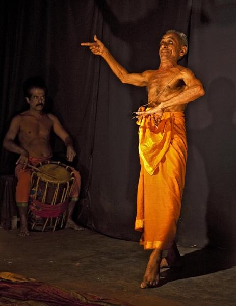 Kathakali Guru by GrahamBaines