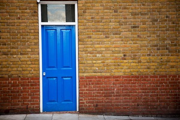 Blue Door by DenisePhoto