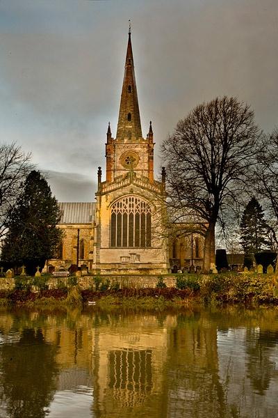 Holy Trinity Church, Stratford upon Avon by Dinney