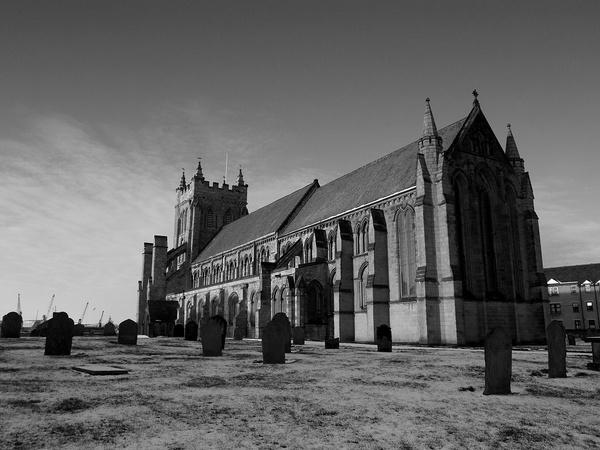 St Hilda\'s Church West Hartlepool by sally_gorse