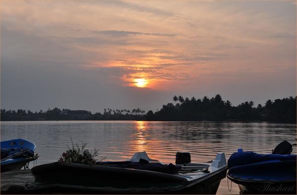 Bentota Sunset by Thushari