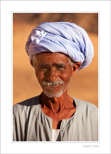 Desert Man by stevie
