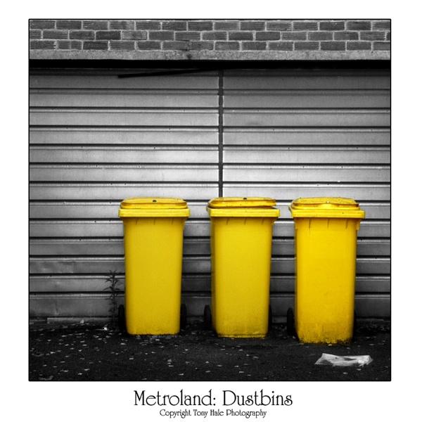 Metroland: Dustbins by tony64