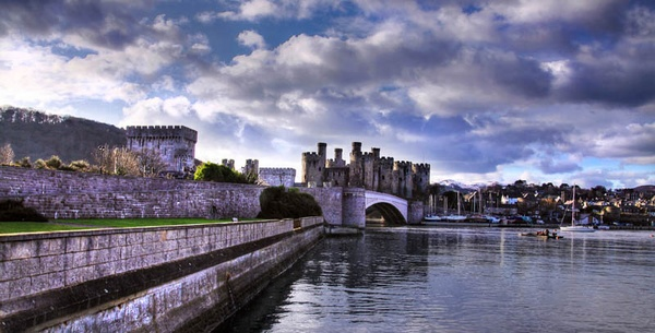 Conwy North Wales by cider