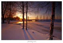 JANUARY SUN...