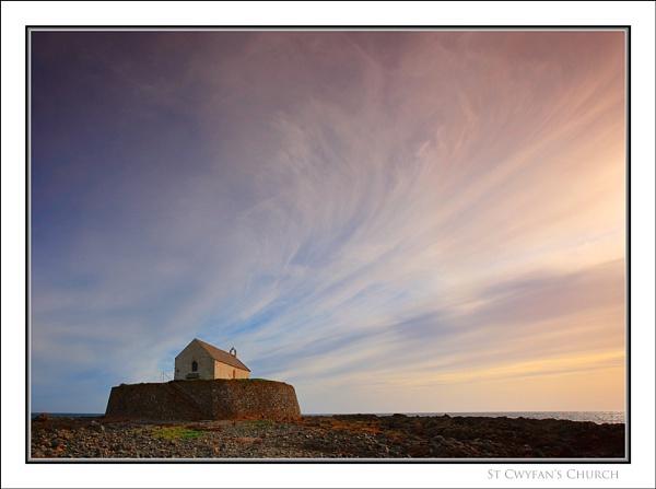 St. Cwyfan\'s Church... by Scottishlandscapes
