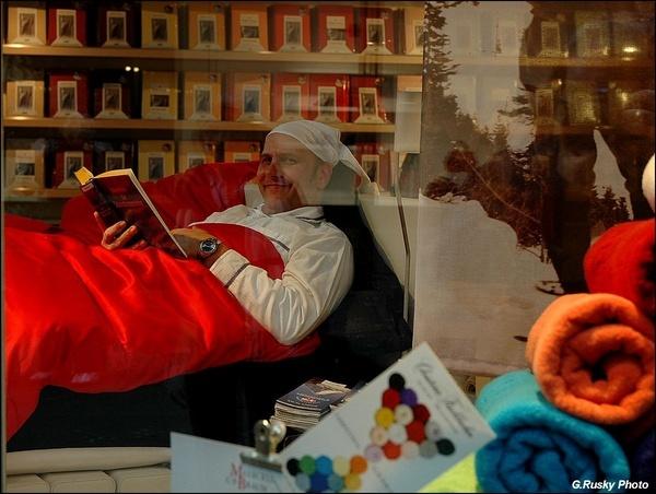 "15 Jan \""The Shop-bedroom Window\"" by GeorgeRusky"