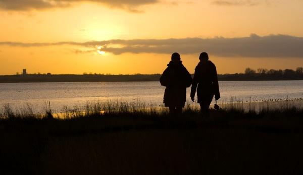 Evening Stroll by Tebbs