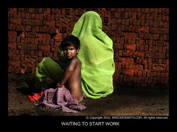Waiting to start work by Birte