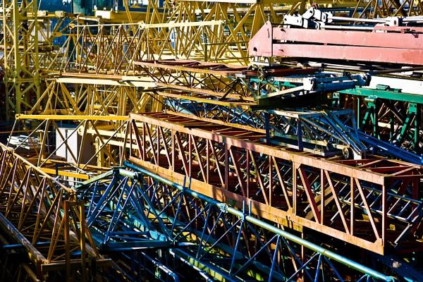 crane graveyard by JohnLynch