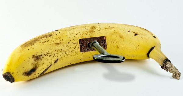 Banana Lock by stockdale