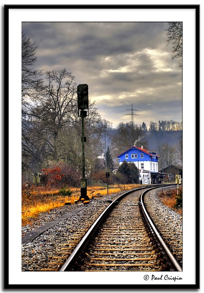 The Local Train Station by ducatirider