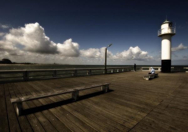 SeaSide, Belgium by rhobbie