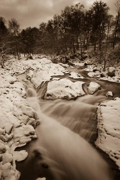 Falls Of Feugh Banchory by Biz79