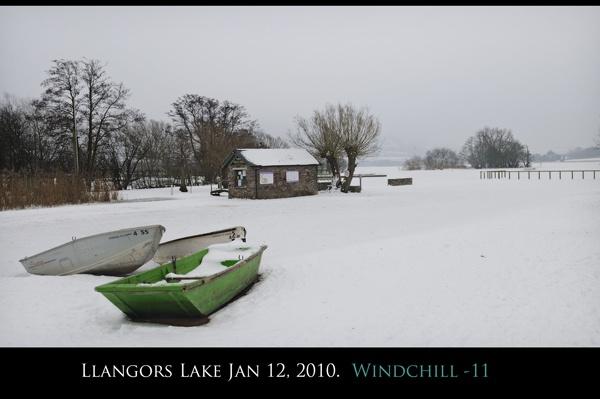 Llangors Lake Jan12th 2010. Windchill -11 by maroondah