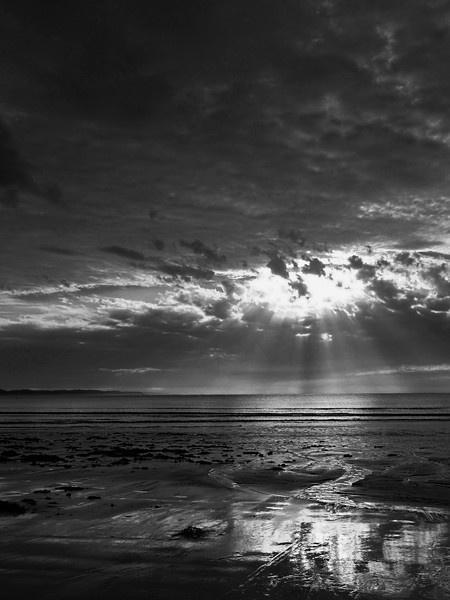 Dawn Torquay Beach Victoria Australia by Regbaron