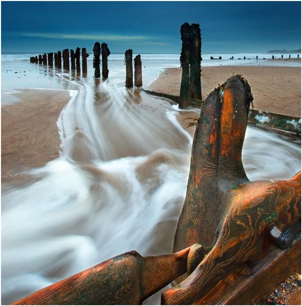 Sandsend Groynes... Reworked by iansnowdon