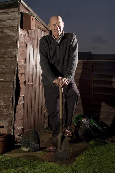 Bill the Gardener by fletchphoto