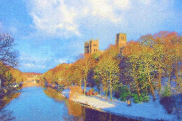 Cathedral - Pastel effect 1 by QuentinS