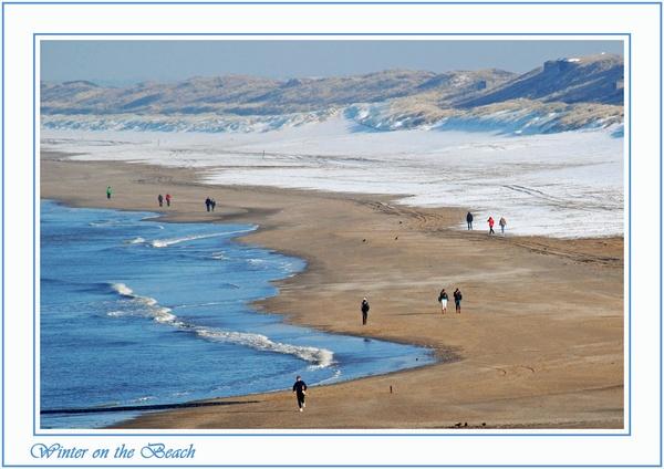 snow beach by ITPSnapper