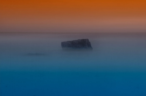 Sunset Rock by eddieskinner