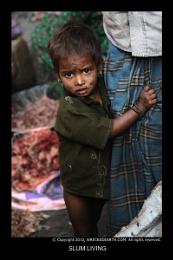 Slum living