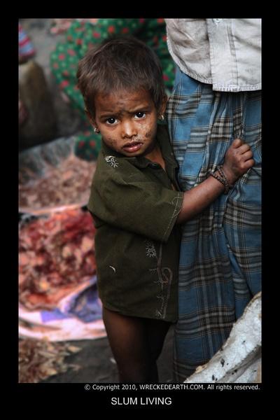 Slum living by Birte