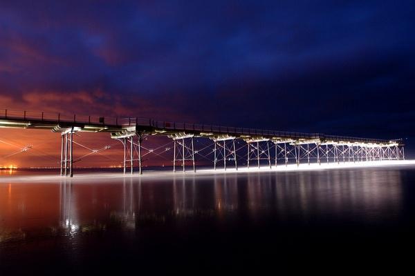 Saltburn Pier ( 2 ) by sally_gorse