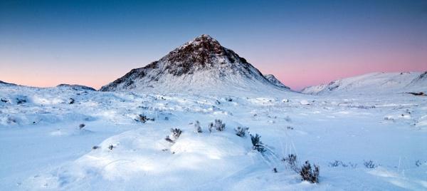 Winter Light on the Buchaille by lochaberlight