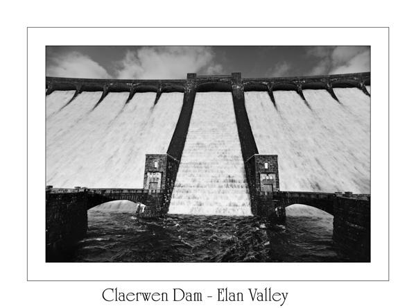 Claerwen Dam - Elan Valley by maroondah