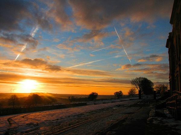 Winter Sky over Barnsley by ChrisBilton