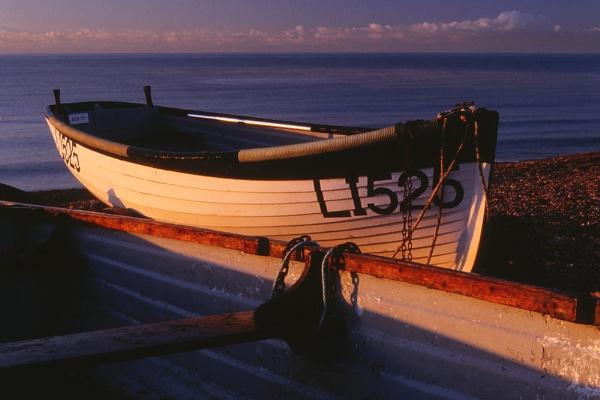 Boats on Beach. by Amanita05