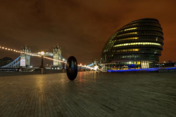 city at nigh by J_Tom