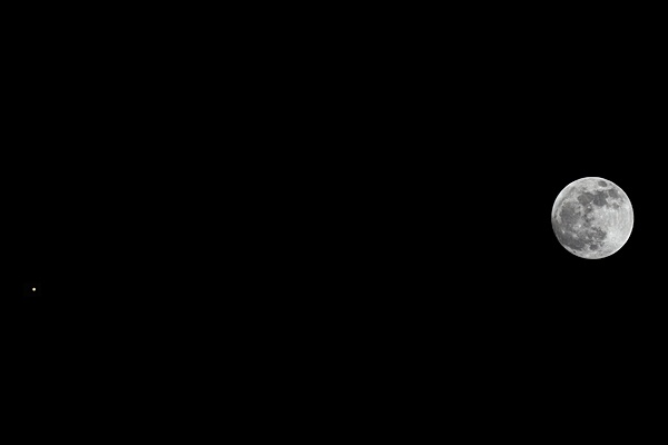 Moon and Mars by strawman