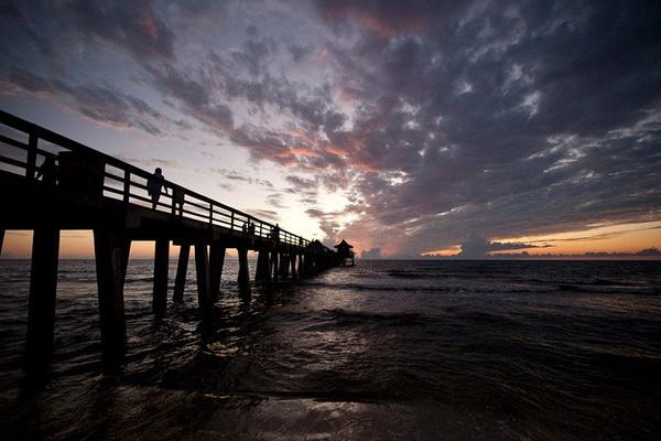 Naples Sunset by DavidGresham