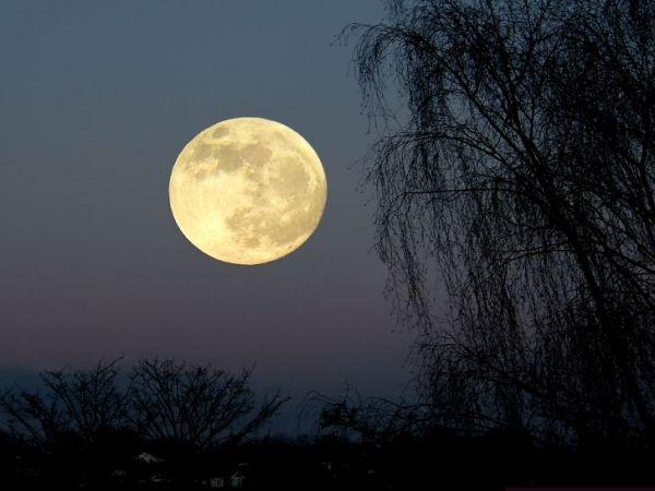 rising full moon by nytecam