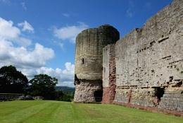 Side of Rhudlan Castle.