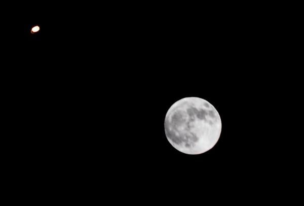 Moon & Mars by looboss