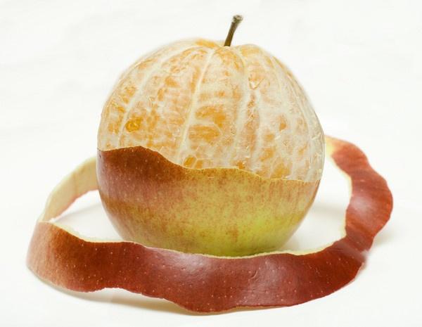 Apple & orange by SeanyP