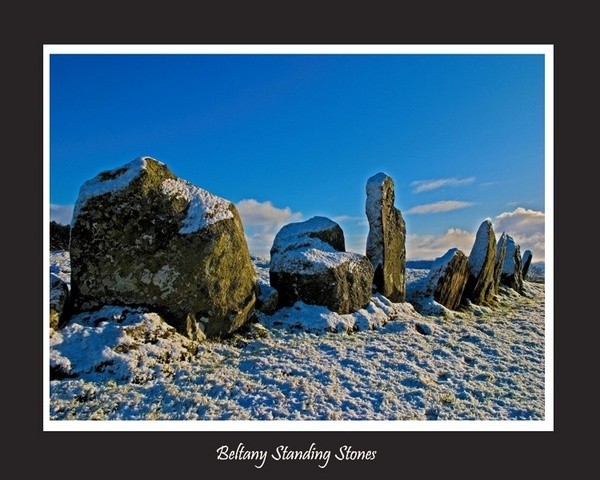 Beltany Standing  Stones by Deux