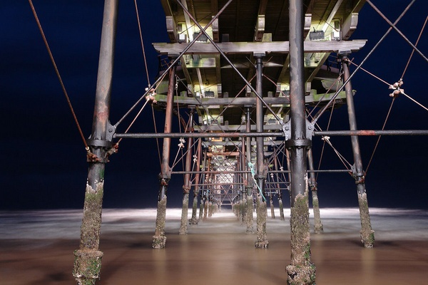 Saltburn Pier ( 3 ) by sally_gorse