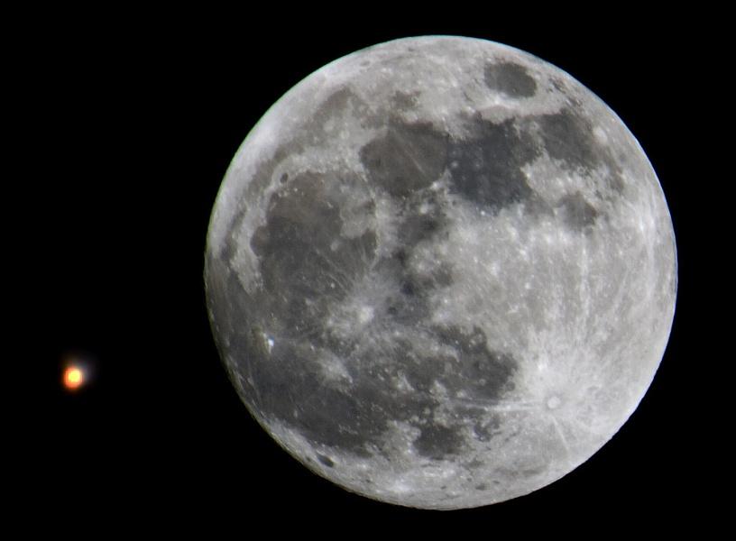 Mars & Moon Jan29
