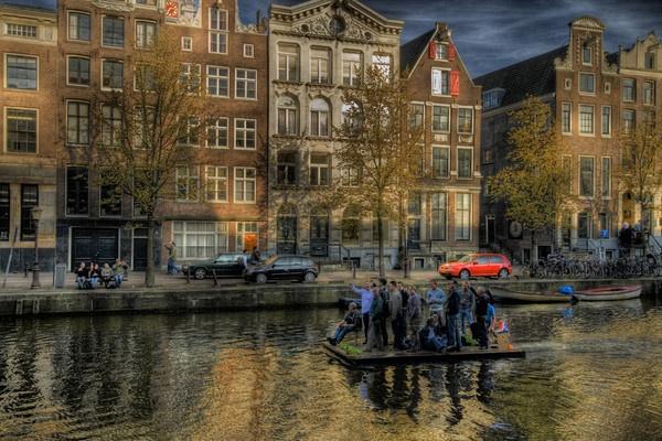 Amsterdam cruise by acididko