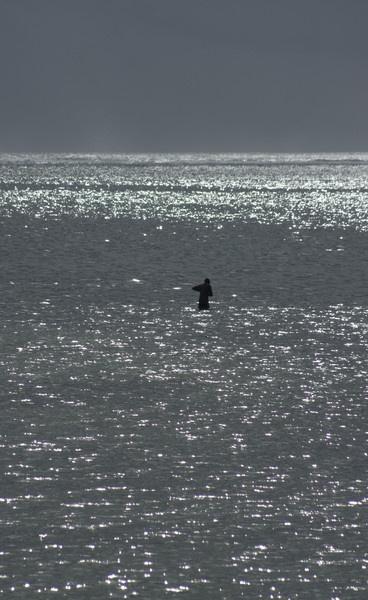 fishing alone by bollie_b