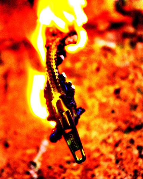 My Zip Is On Fire! by Radders3107