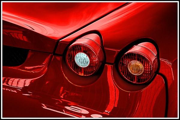 Fiery Ferrari close-up by Phil_Bird